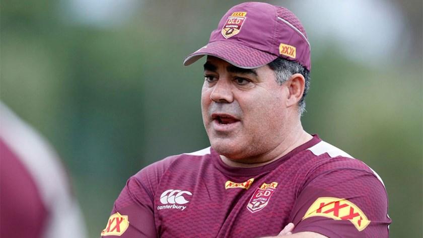 Former Queensland Origin coach Mal Meninga.