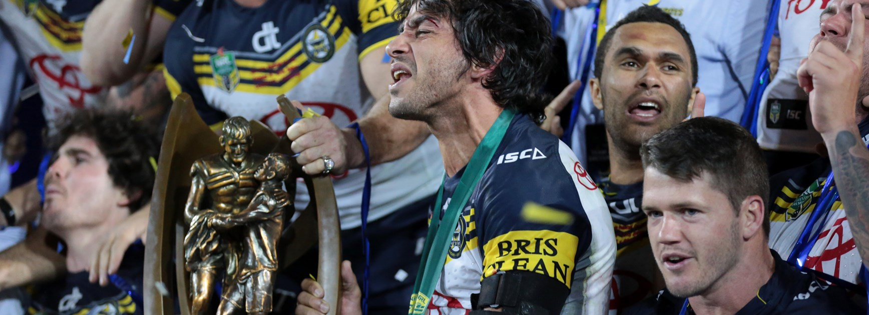 Johnathan Thurston at the 2015 grand final.