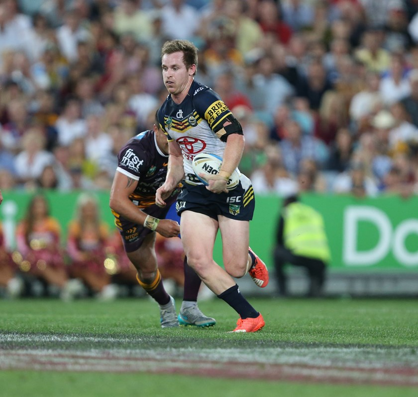 Michael Morgan conjured up the late try for Kyle Feldt.
