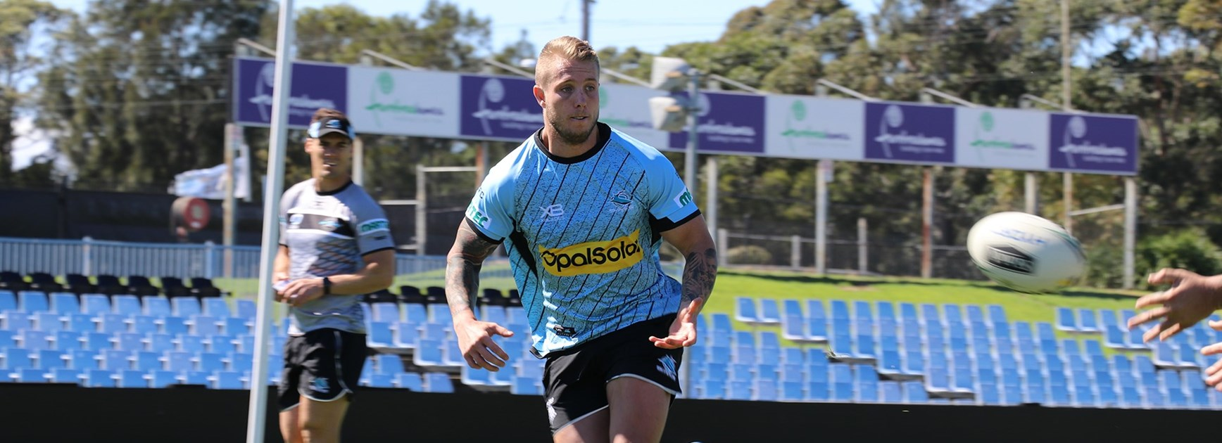 Sharks signing Aaron Gray ready for new challenge