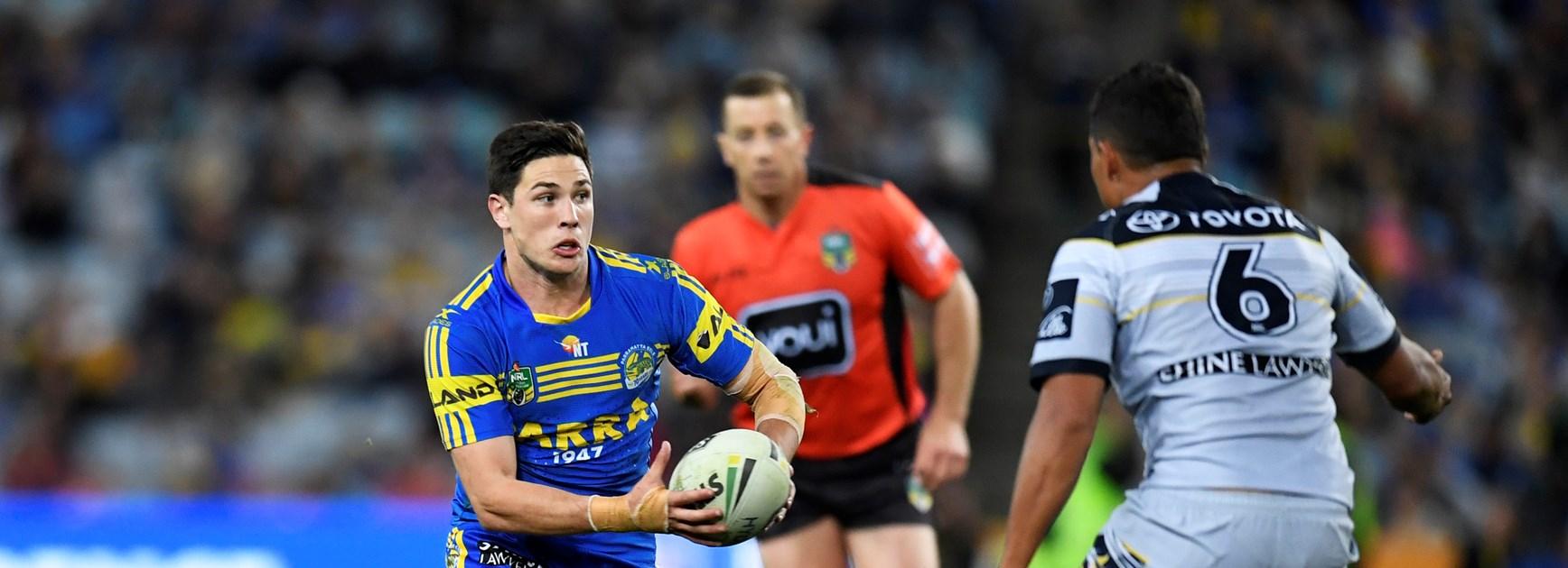 Parramatta Eels half Mitchell Moses.