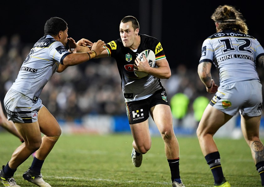 Penrith Panthers second-rower Isaah Yeo.