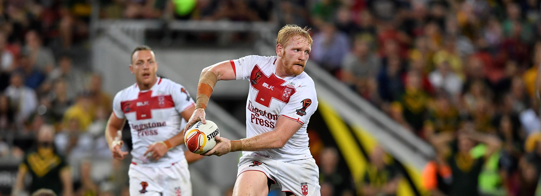 England prop and new Dragons signing James Graham.
