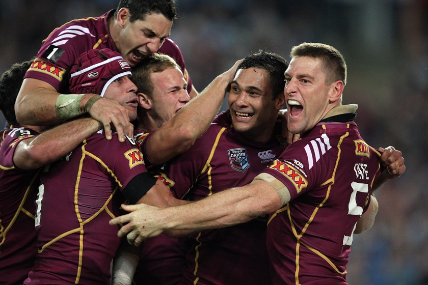 Justin Hodges became a Queensland Maroons legend after an inauspicious start to his career.