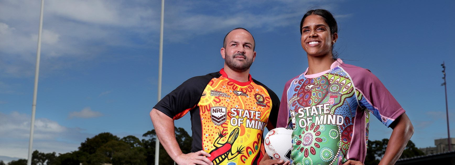 Indigenous players Trent Rose will line up for the Goannas and Taleena Simon will represent the Gems against their New Zealand Maori counterparts.