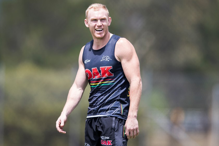 Penrith Panthers hooker Peter Wallace.