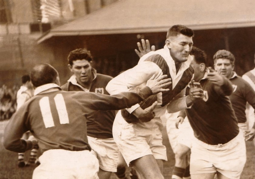 Norm Provan in action for St George.