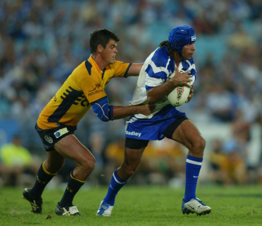 Johnathan Thurston in his last year at the Bulldogs.