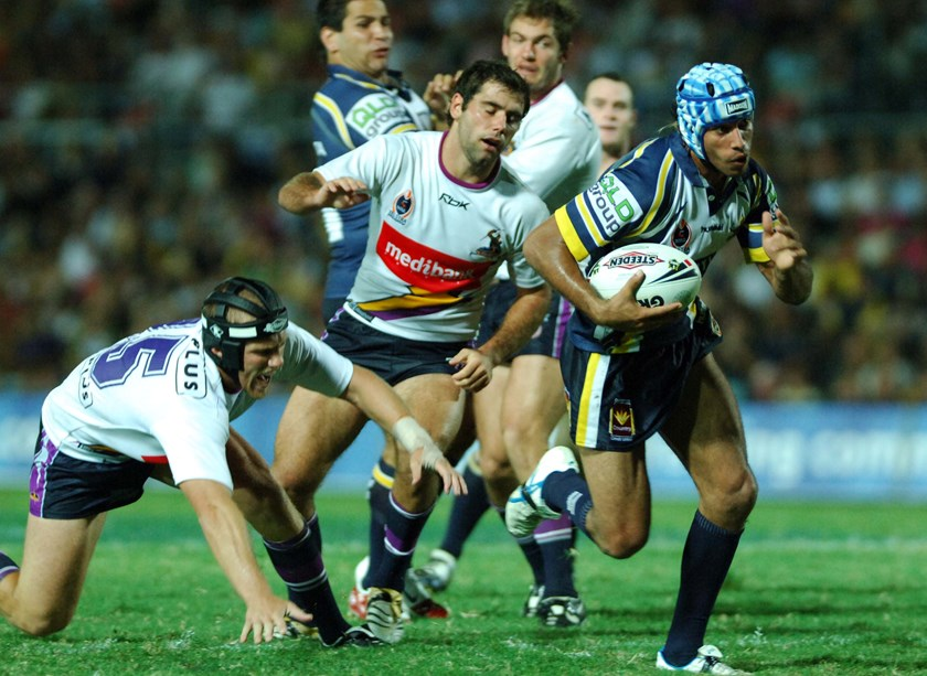 North Queensland Cowboys half Johnathan Thurston.