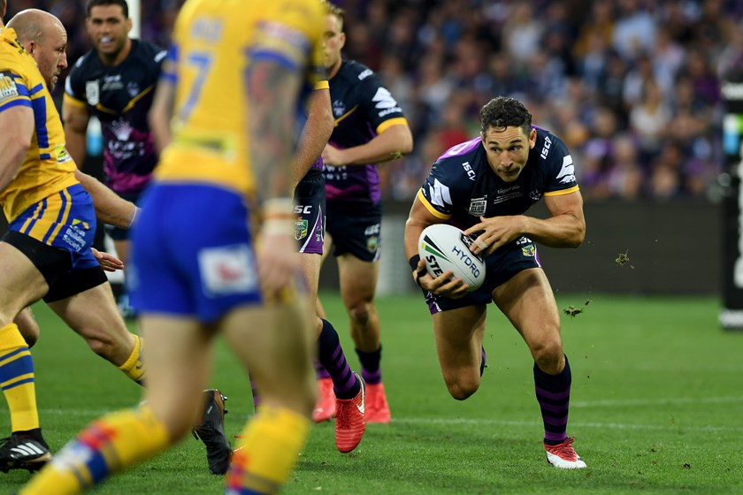 Billy Slater in the World Club Challenge.