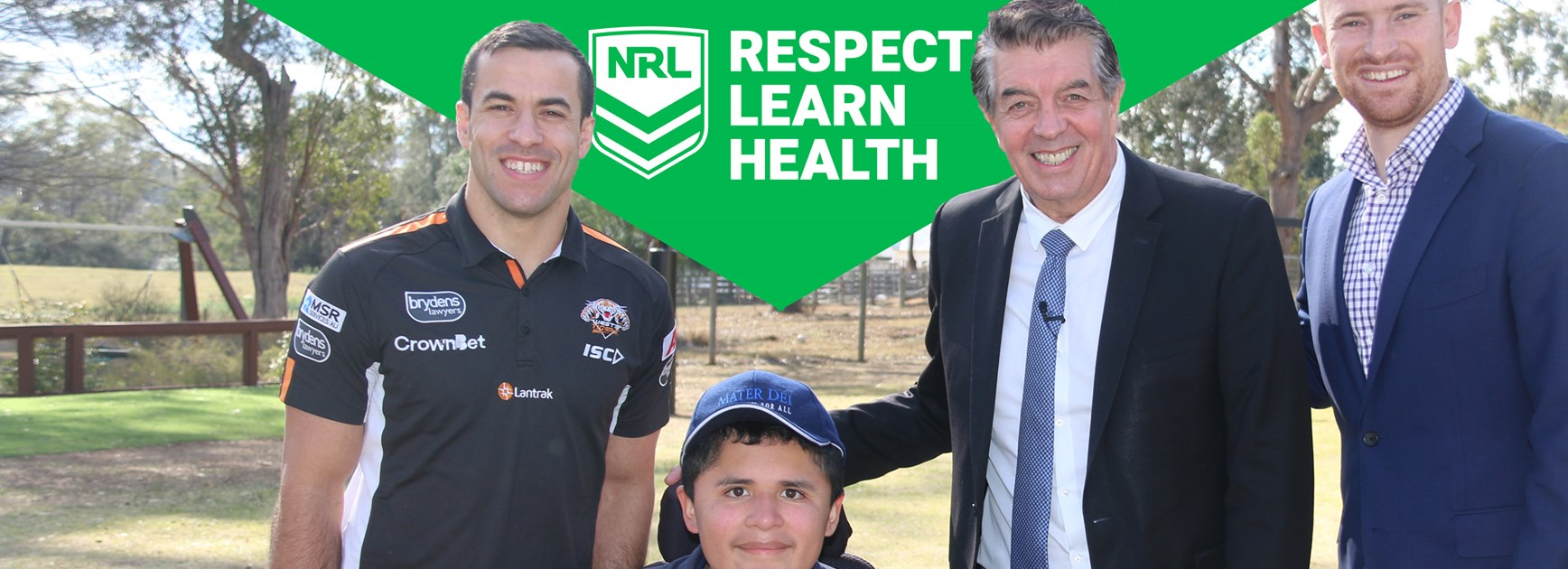 Wests Tigers break down barriers to win community award