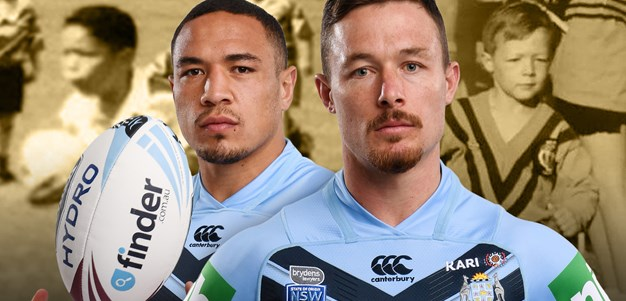Frizell, Cook - from Under-7s to Blues brothers