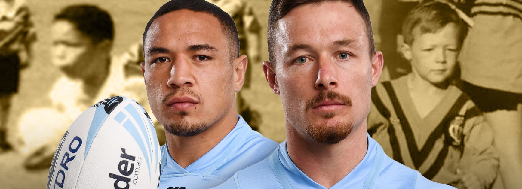 Frizell, Cook go from under 7s to Blues brothers