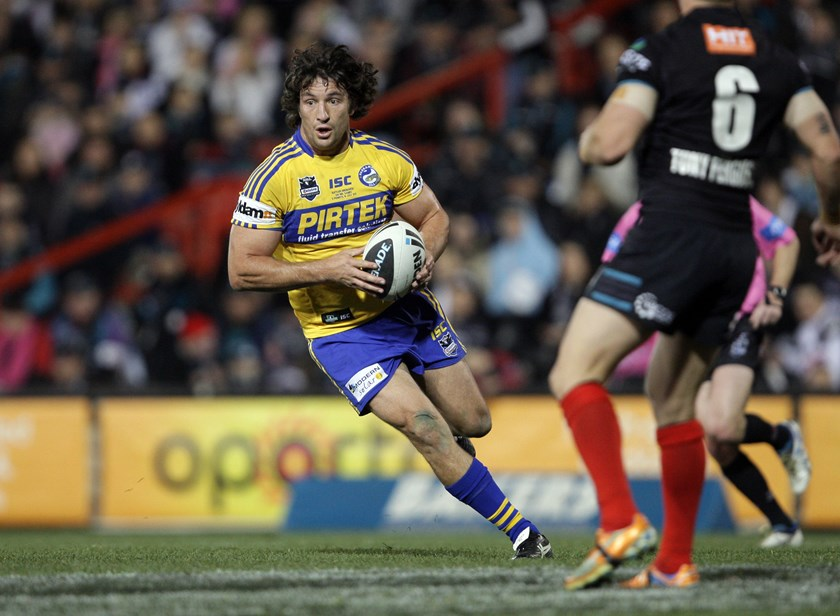 Nathan Hindmarsh was a stalwart for Parramatta in the second row.