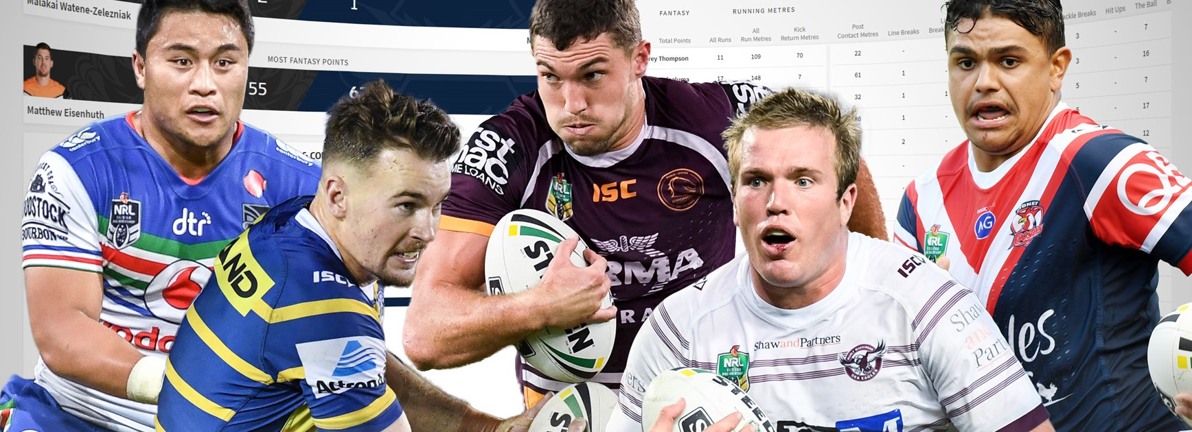 NRL.com takes players statistics to a new level
