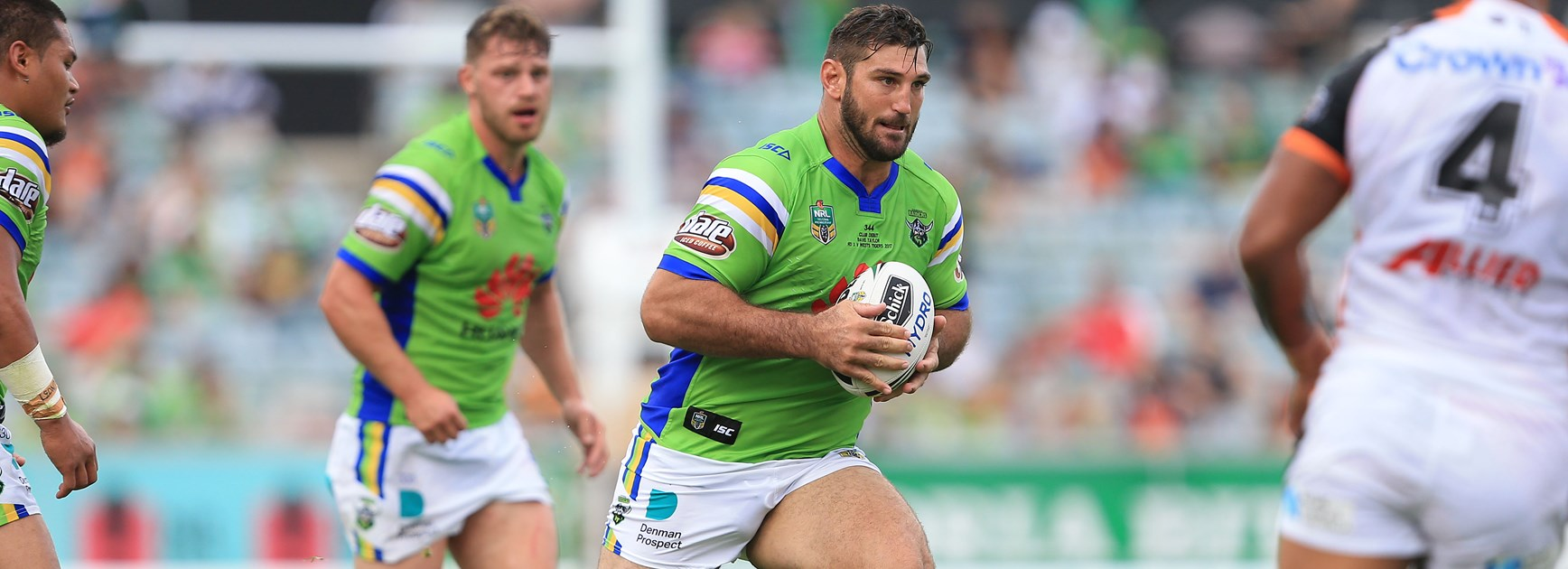 Former Canberra Raiders prop Dave Taylor.