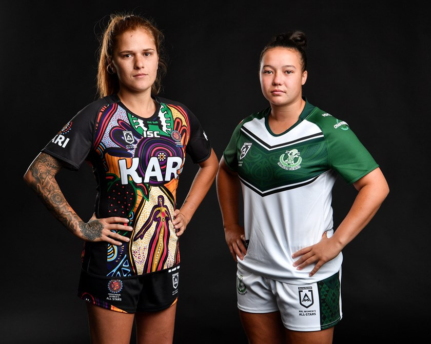 The 2019 women's All Stars jerseys.