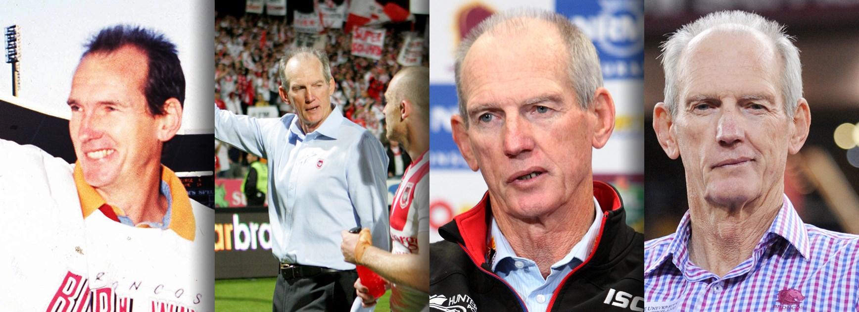 Timeline: Wayne Bennett's coaching career