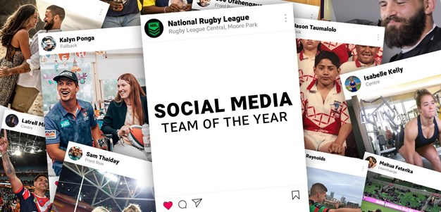 NRL Social Media Team of the Year