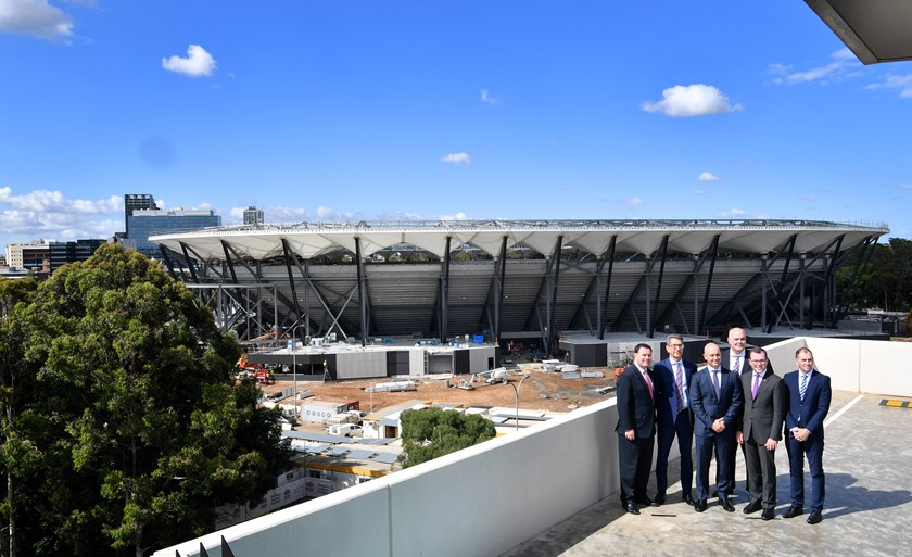 The new Western Sydney Stadium.