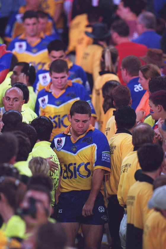 Nathan Cayless and the Eels.