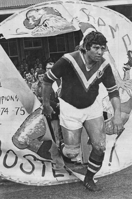 Arthur Beetson in 1975.