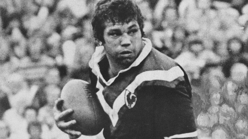 Arthur Beetson in action for Eastern Suburbs.