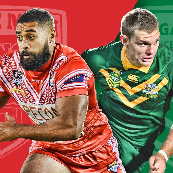 Match Preview: Kangaroos v Mate Ma'a Tonga