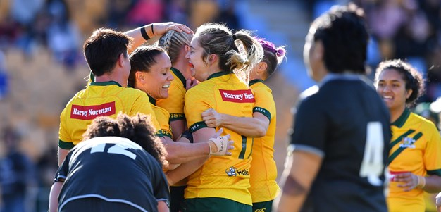 Jillaroos edge Kiwi Ferns in great contest