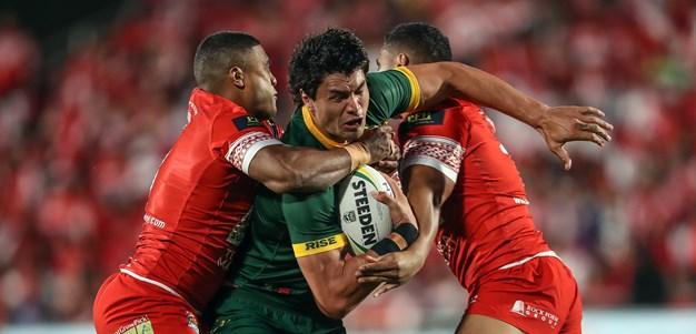 Kangaroos Match Tongan Pride In Historic Test Win