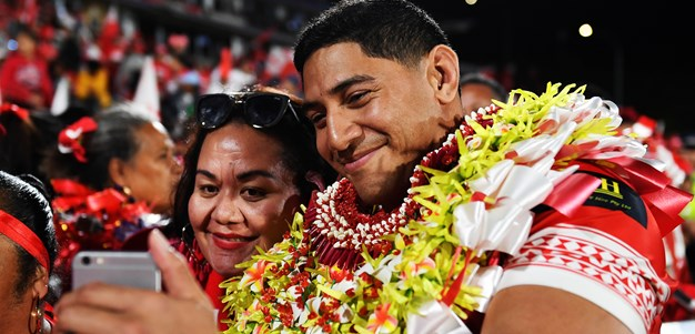 Taumalolo eager to inspire next generation in Tonga