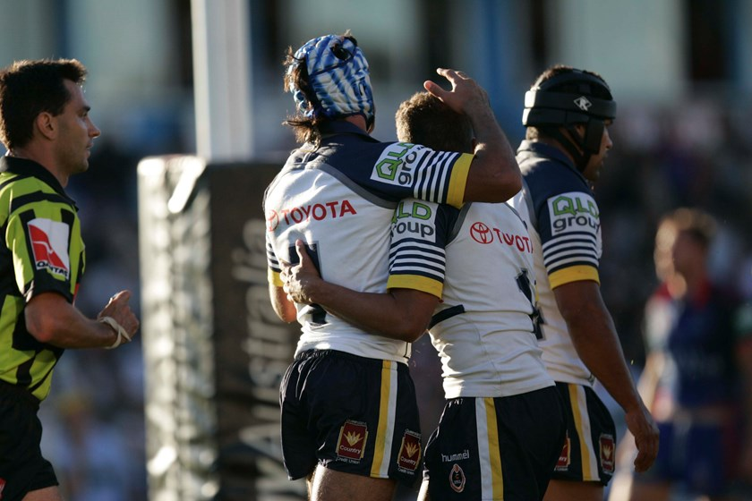 Johnathan Thurston and Matthew Bowen.