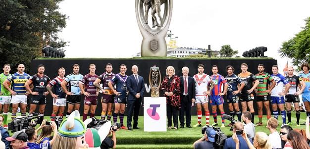 Smith helps launch 2018 NRL season