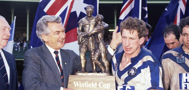 1985 grand final rewind: Dogs defy Dragons to win third in six years