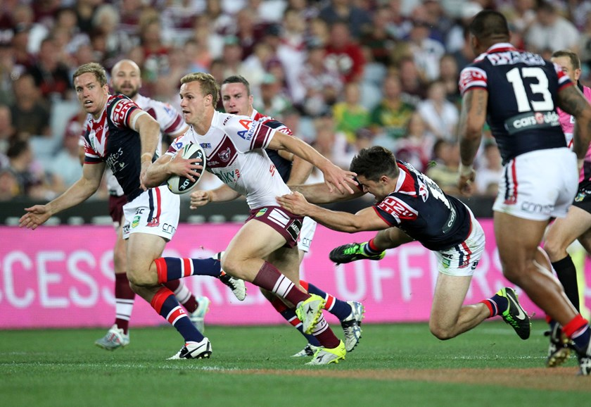 Manly halfback Daly Cherry-Evans in the 2013 grand final.