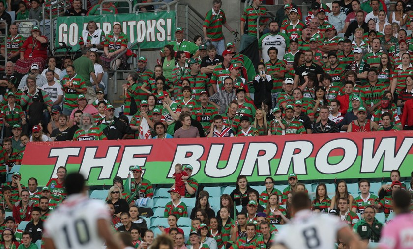 Rabbitohs fans are renowned for their passion.