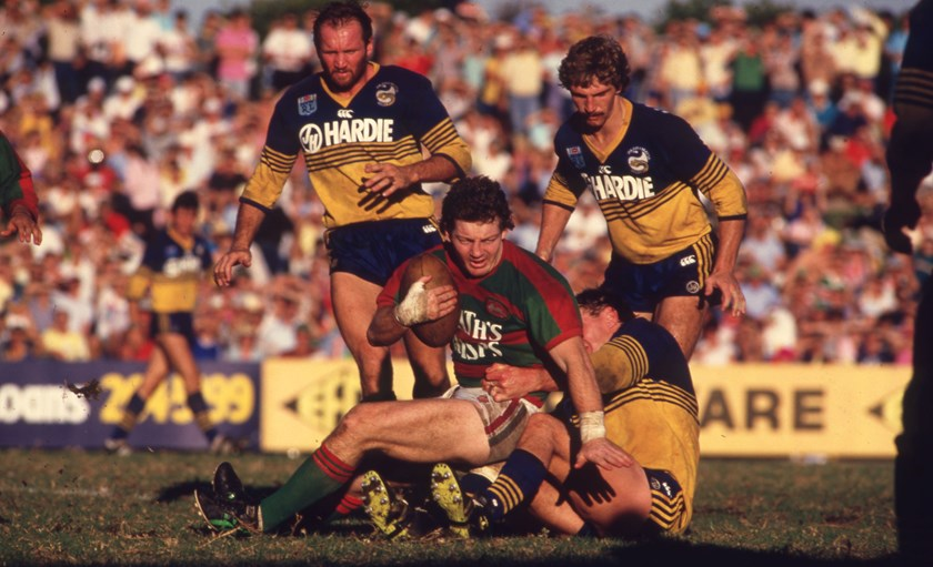 Phil Gould and South Sydney take on Parramatta.