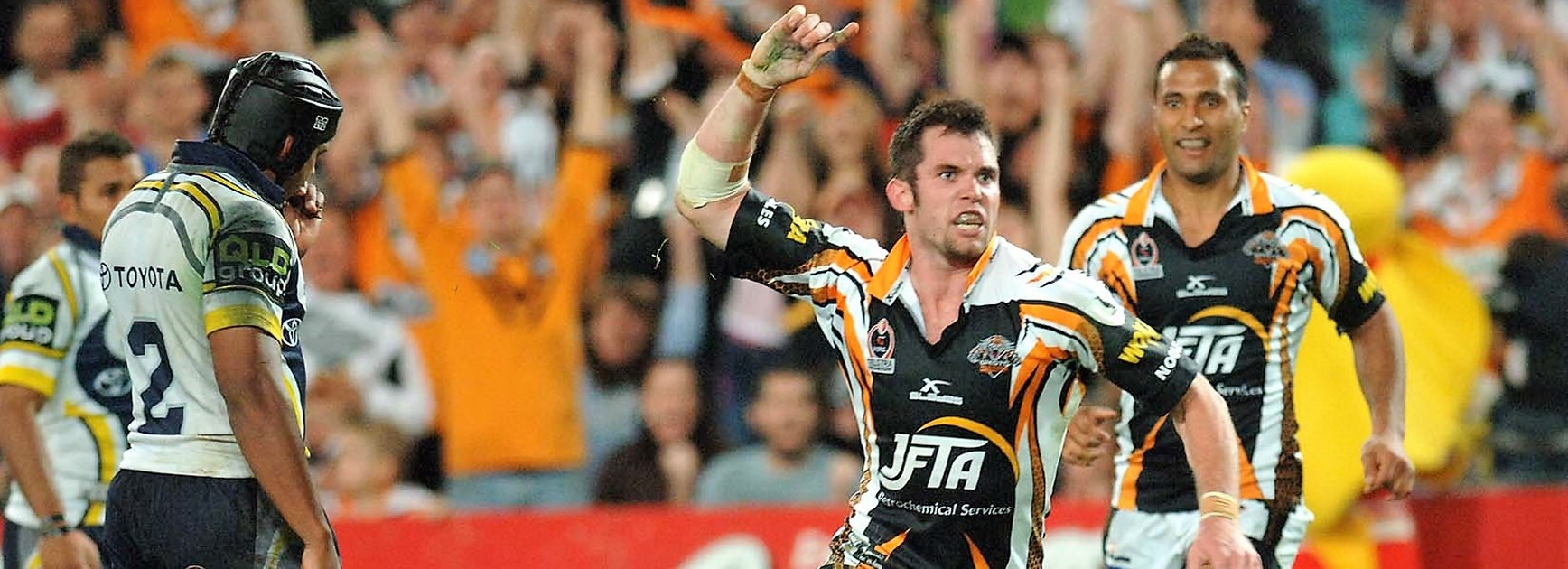 2005 grand final rewind: Magical Tigers stun Cowboys