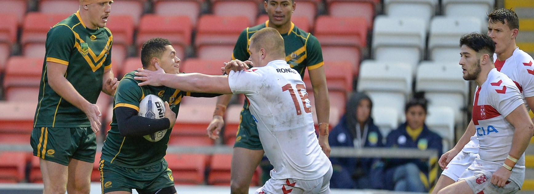 Australian Schoolboys lose first Test to England