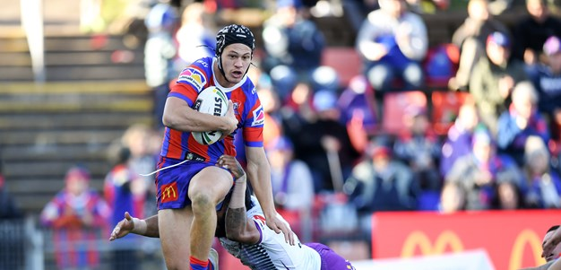 Brown not locking Ponga into halves just yet