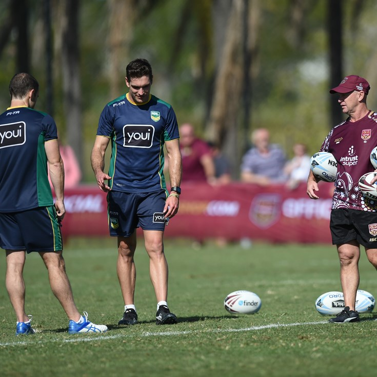 Maroons Bring In Refs For Training Edge