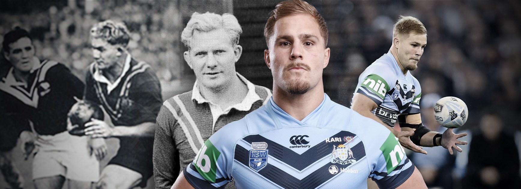 De Belin chases grandfather's Kangaroos jersey