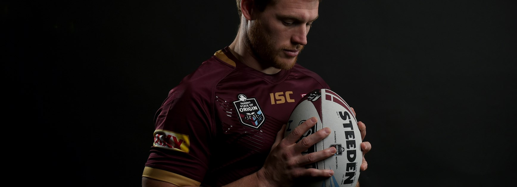 Maroons prop Tim Glasby.