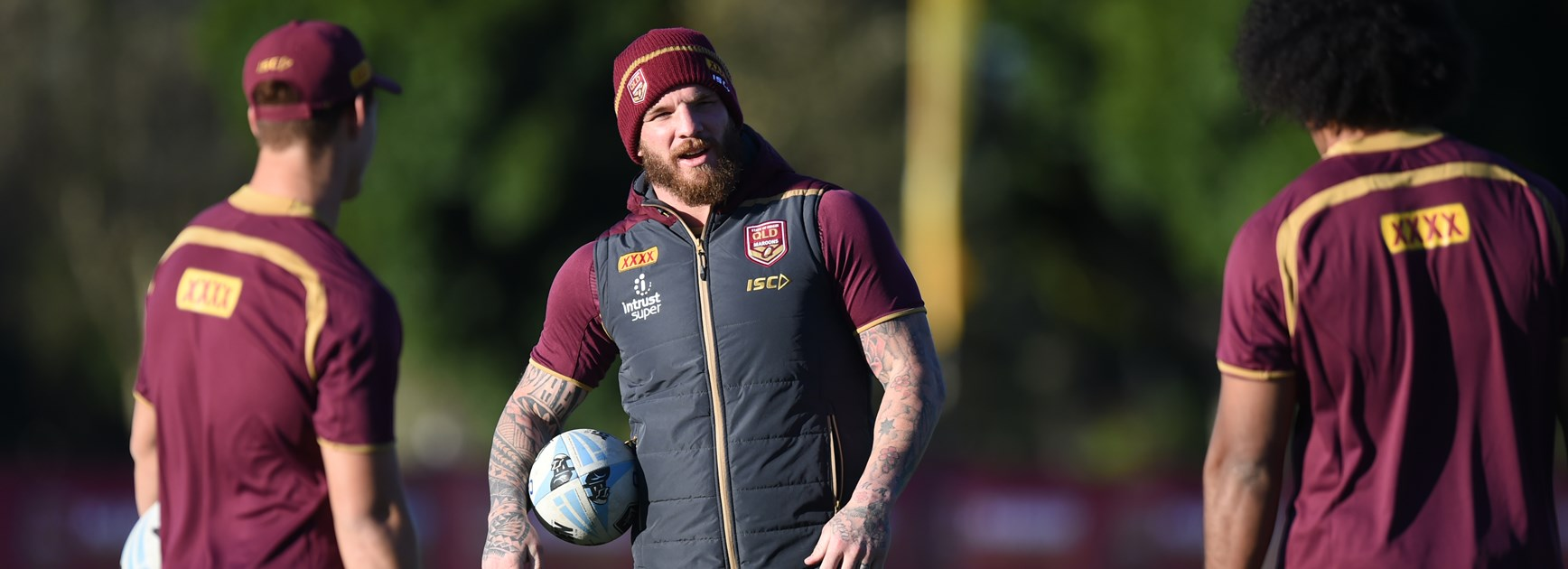 Queensland forward Josh McGuire.