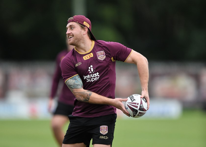 Queensland five-eighth Cameron Munster.