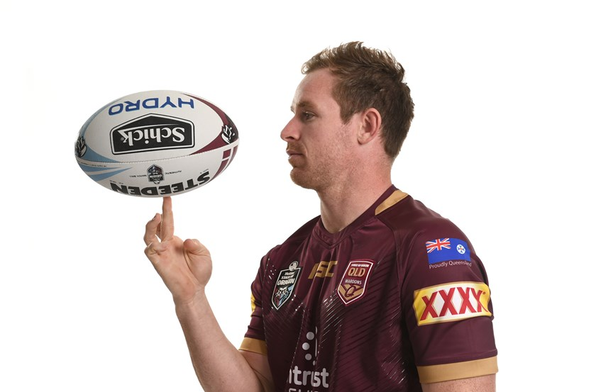 Michael Morgan is set to start at fullback in Wednesday's Origin for injured star Billy Slater.