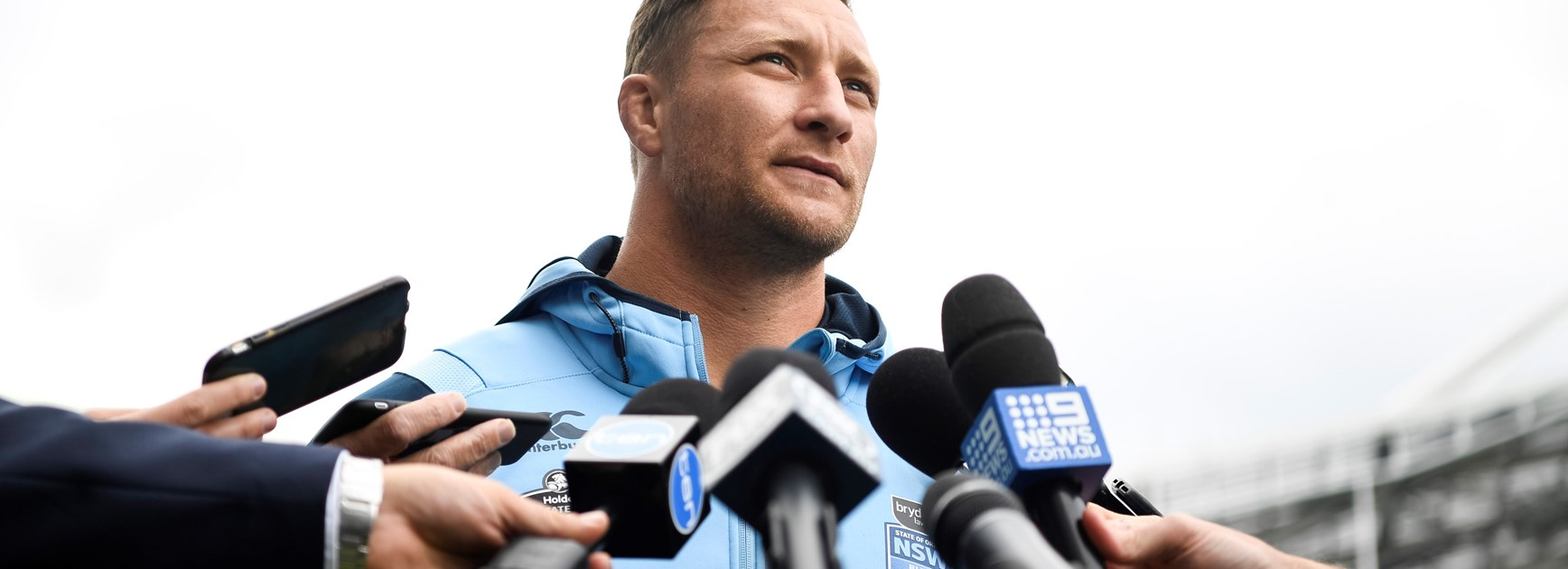 NSW forward Tariq Sims.