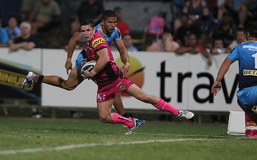 James Roberts during his stint with Penrith in 2013.