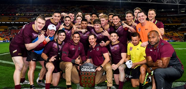 Young Knight enjoys historic Qld 20s Origin win