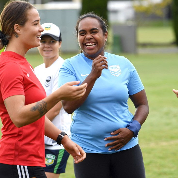Indigenous Blues Proud to be Female Role Models: O'Mealey
